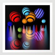 lightballs -2- Art Print