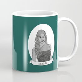 Laverne Cox Illustrated Portrait Coffee Mug