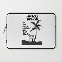 MUSCLE BEACH  Laptop Sleeve