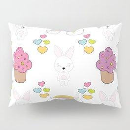 Cute rabbits Pillow Sham