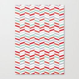 Herringbone Pattern 01 Canvas Print