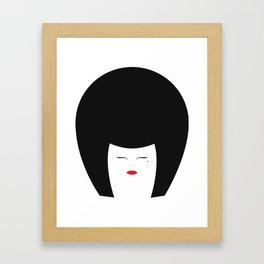 Kabuki Bobette Framed Art Print