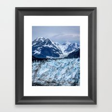 Glacier Bay Framed Art Print