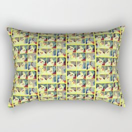 Cockatiel Art Rectangular Pillow