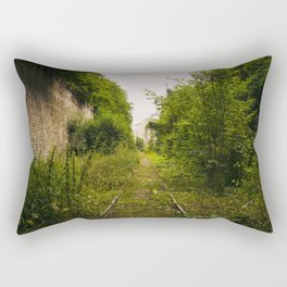 Il y avait autrefois seulement vous // Once there was only you Rectangular Pillow