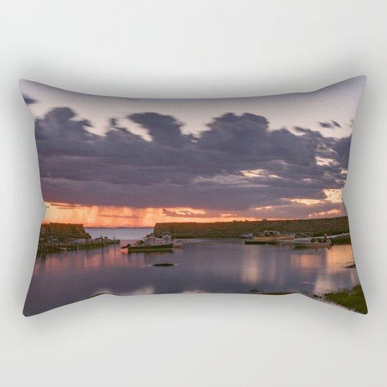Rainy Lanescove Sunset Rectangular Pillow