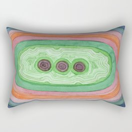 Fruit With Three Seeds Rectangular Pillow