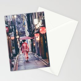Geisha In Kyoto Stationery Cards