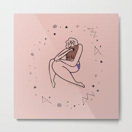 Pink Muse Metal Print