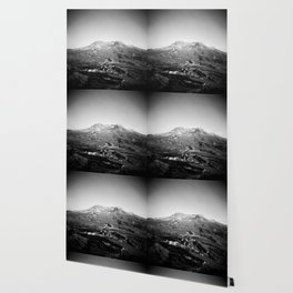 Mount St. Helens in Black and White - Holga Photograph Wallpaper