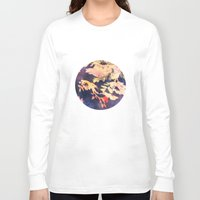 vintage floral Long Sleeve T-shirts featuring Floral by wendygray