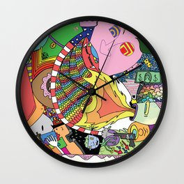 Is This A Foot? Wall Clock