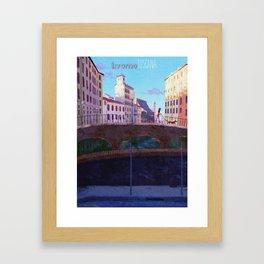 The Morning Walk Framed Art Print
