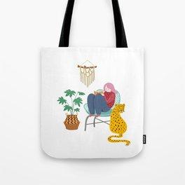 My comfort zone Tote Bag
