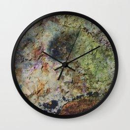 """Rusty grunge surface"" Wall Clock"