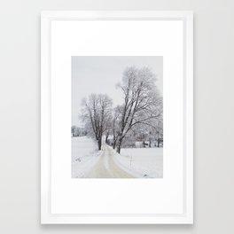 WinterSweden Framed Art Print