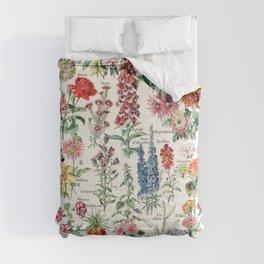 Adolphe Millot - Fleurs pour tous - French vintage poster Comforters