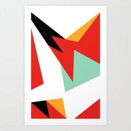 VII Hare Art Print