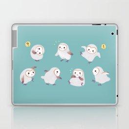 Baby Barn Owls Laptop & iPad Skin
