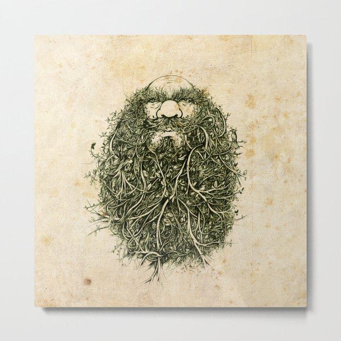Bearded Horseman Metal Print