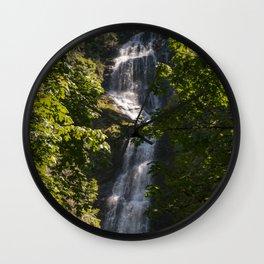 Munson Creek Falls Wall Clock
