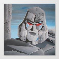 Transformers Megatron G1: It's Over Prime! Canvas Print