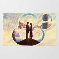 bride Area & Throw Rugs featuring Princess Bride by Emmy Winstead