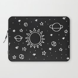 Planets Hand Drawn Laptop Sleeve