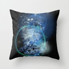 a room with view Throw Pillow