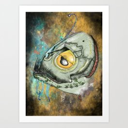 The Innsmouth Look Art Print
