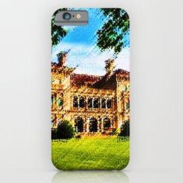 The Breakers Mansion Watercolor - Newport Mansion Series - Jéanpaul Ferro iPhone Case