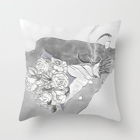 """""""White Women"""" by Virginia McCarthy Throw Pillow"""