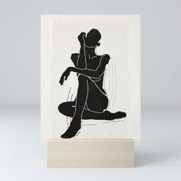 Nude woman 3 Mini Art Print