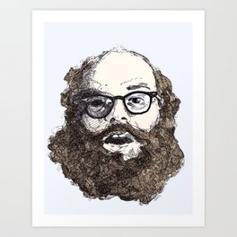 Ginsberg Art Print