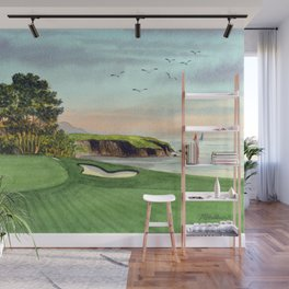 Pebble Beach Golf Course 5th Hole Wall Mural