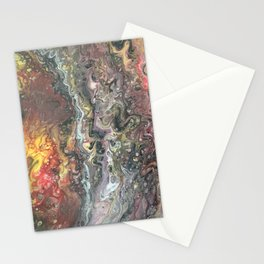 Earth's Core Stationery Cards