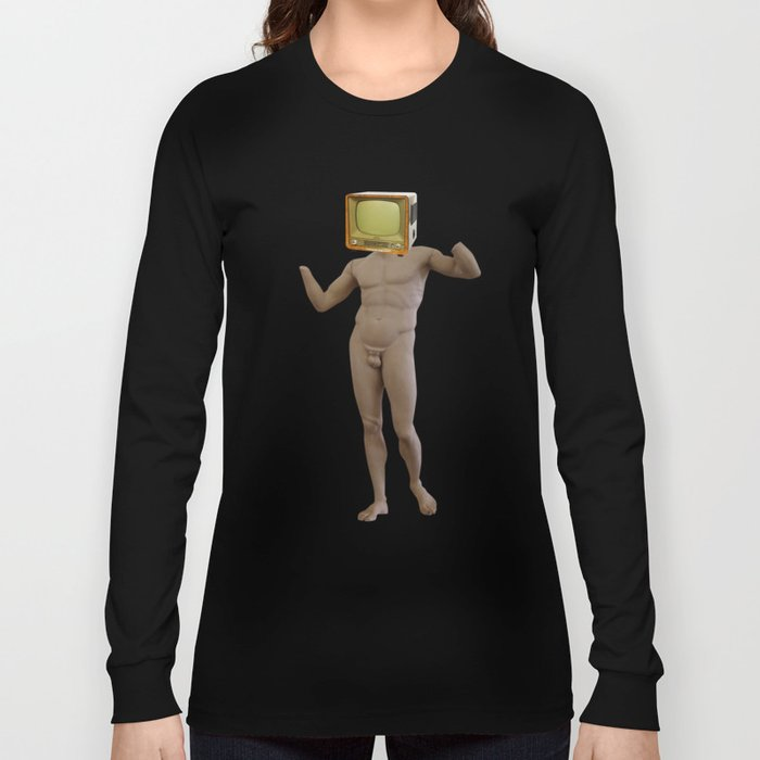 Stillstand · TV Statue Man 1v1 Long Sleeve T-shirt