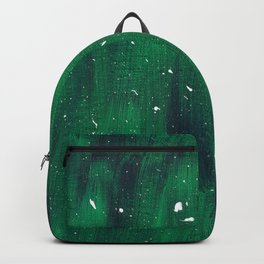 Green and Blue Splatter Backpack