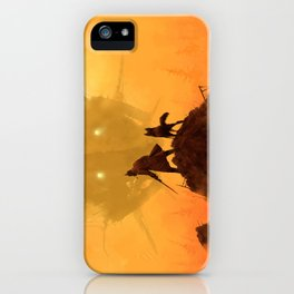 1920 - take your dog for a walk iPhone Case