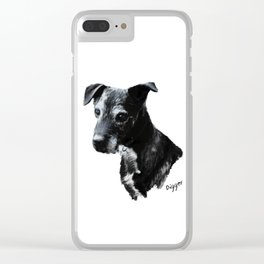 Portrait of Digger Clear iPhone Case