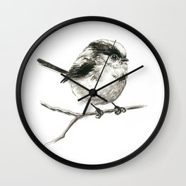 Tit bird Wall Clock
