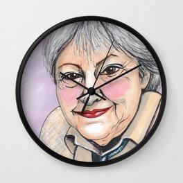Gloria Fuertes Wall Clock