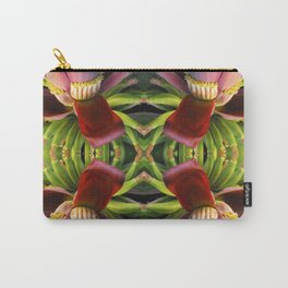 Banana Flower Pattern Carry-All Pouch