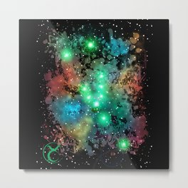 The Zodiac Sign -- Taurus Metal Print