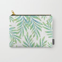 Tropical Palm Leaf 02 Carry-All Pouch