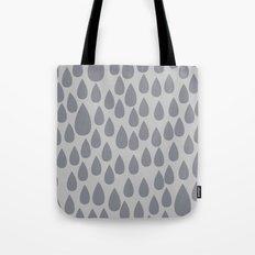 Grey drops Tote Bag