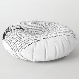 Good Wife's Guide Floor Pillow