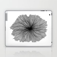 Jellyfish Flower B&W Laptop & iPad Skin