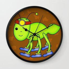 Kawaii Ant Tunneling Home  Wall Clock