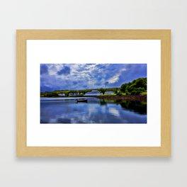 Loch Harport Isle of Skye Framed Art Print